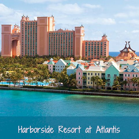 Vacation Resorts - Harborside Resort At Atlantis - The Bahamas