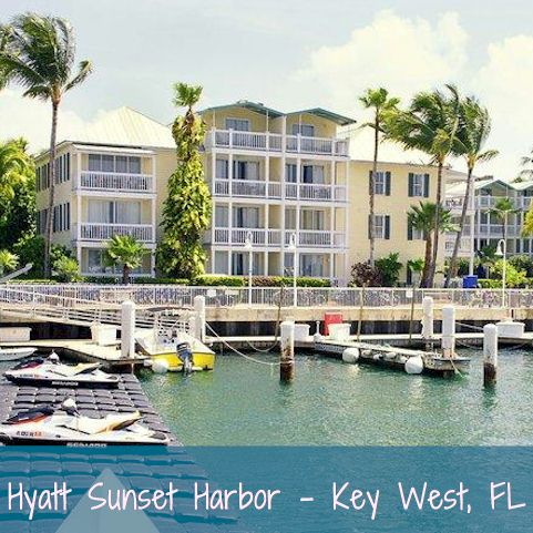 Hyatt Sunset Harbor, Key West FL - Hawaii Vacation Rental
