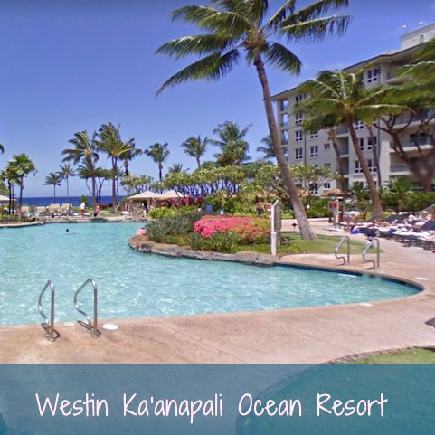 Vacation Resorts - Westin Ka'anapali Ocean Resort - Hawaii