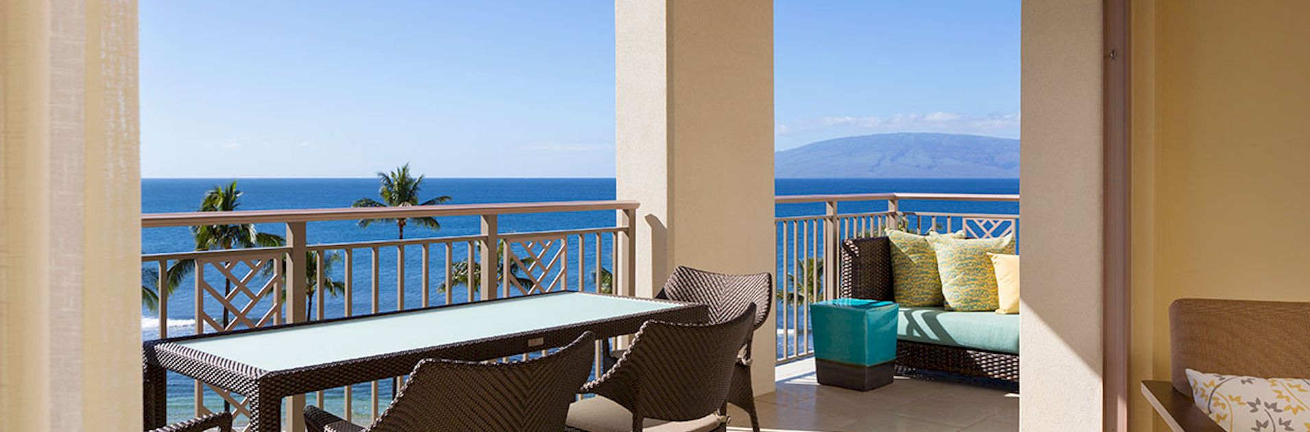 Hyatt-Kaanapali-Beach-Maui-terrace-view
