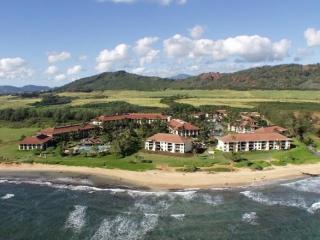 Kauai Beach Villas Aerial View