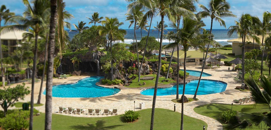 Kauai Beach Villas Pools