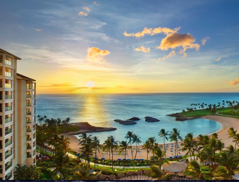 Marriott's Ko Olina Beach Club - Lagoon Sunset