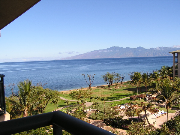 Sample view from an ocean view villa - Building 3