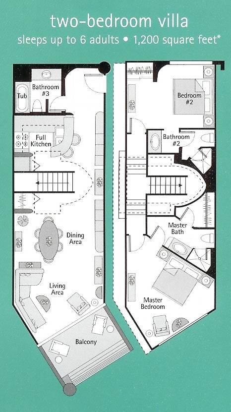 Westin St. John Floor Plan