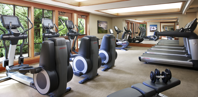 Hyatt Carmel Highlands Inn - Exercise Room