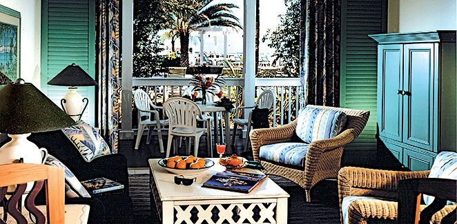 Hyatt Sunset Harbor - Key West FL Living Room