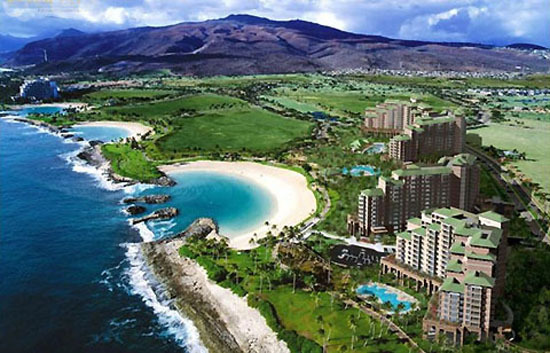 Marriott's Ko Olina Beach Club - Aerial View