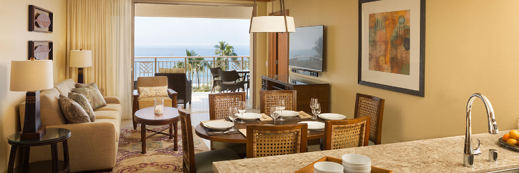 Hyatt Ka'anapali Beach - Living Room