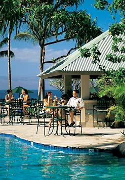 Marriot Maui Ocean Club - Poolside