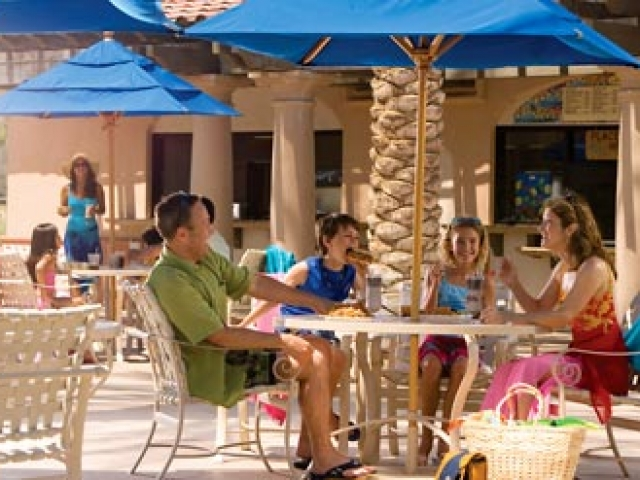 Marriotts Shadow Ridge Pool Dining