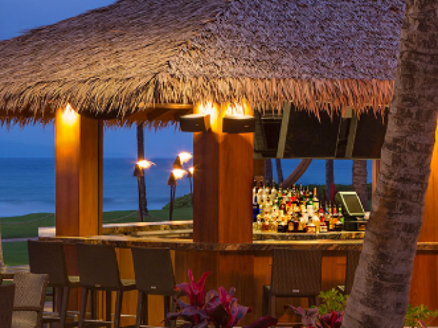 Hyatt Ka'anapali Beach - outdoor bar