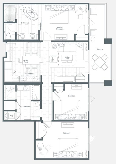 westin-nanea-ocean-villas-3bed-floor-plan