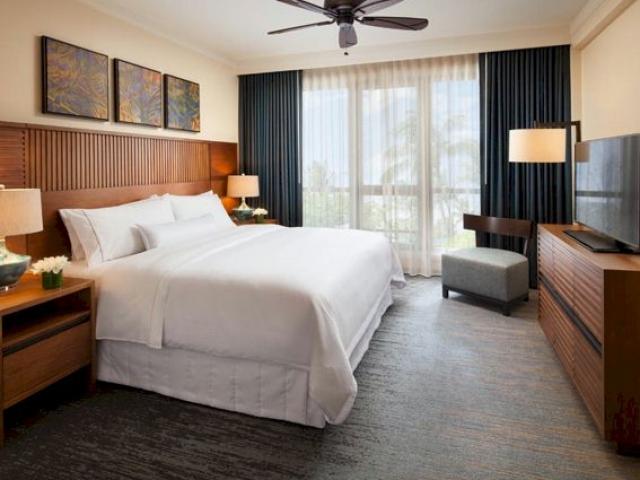 Westin Nanea Ocean Villas Bedroom