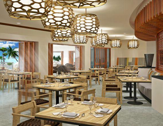 Westin Nanea Ocean Villas Dining