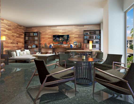 Westin Nanea Ocean Villas Living Area