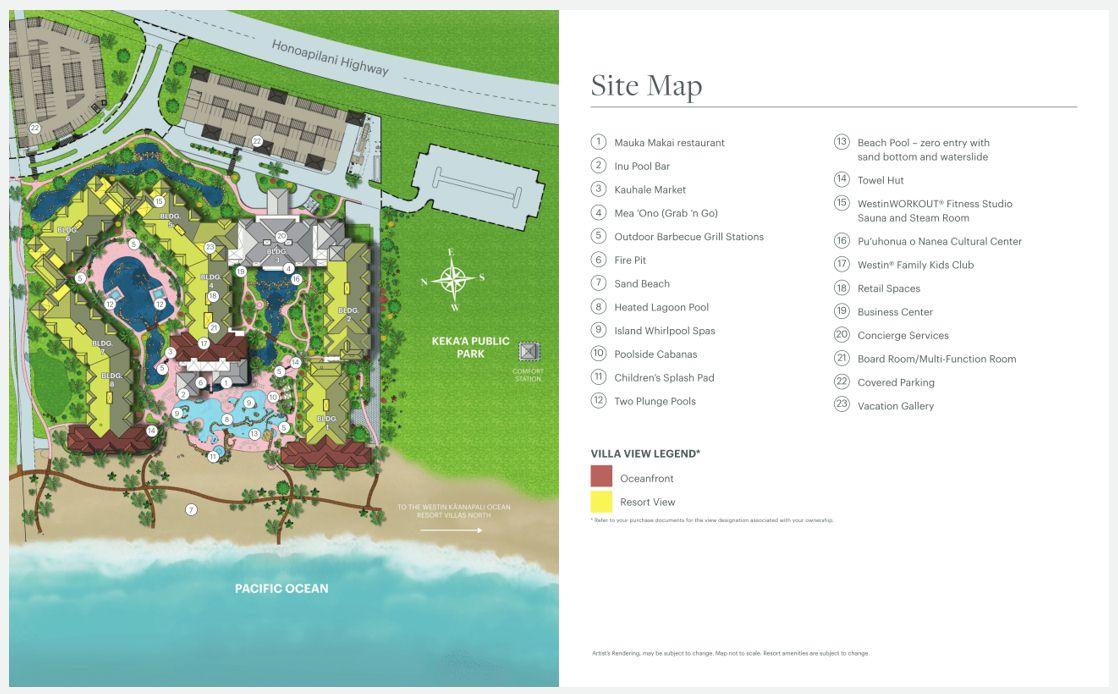 westin-nanea-ocean-villas-map