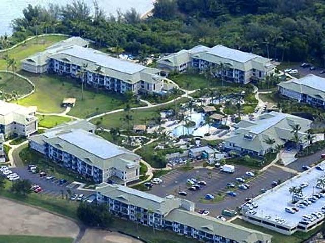Westin Princeville Ocean Resort Villas - Aerial View