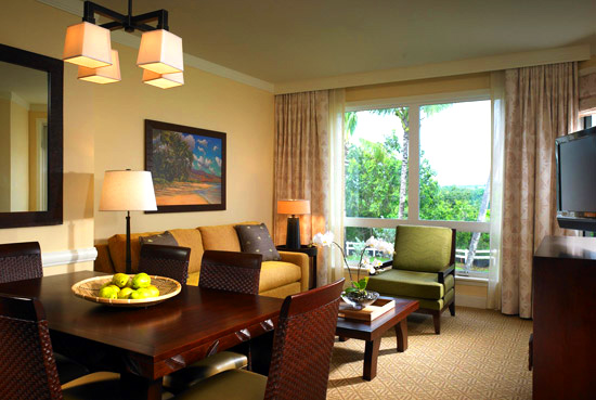 Westin Princeville Ocean Resort Villas - Living Area