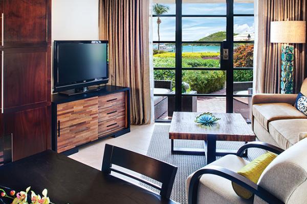 Westin St. John Coral Vista Villa Living Room