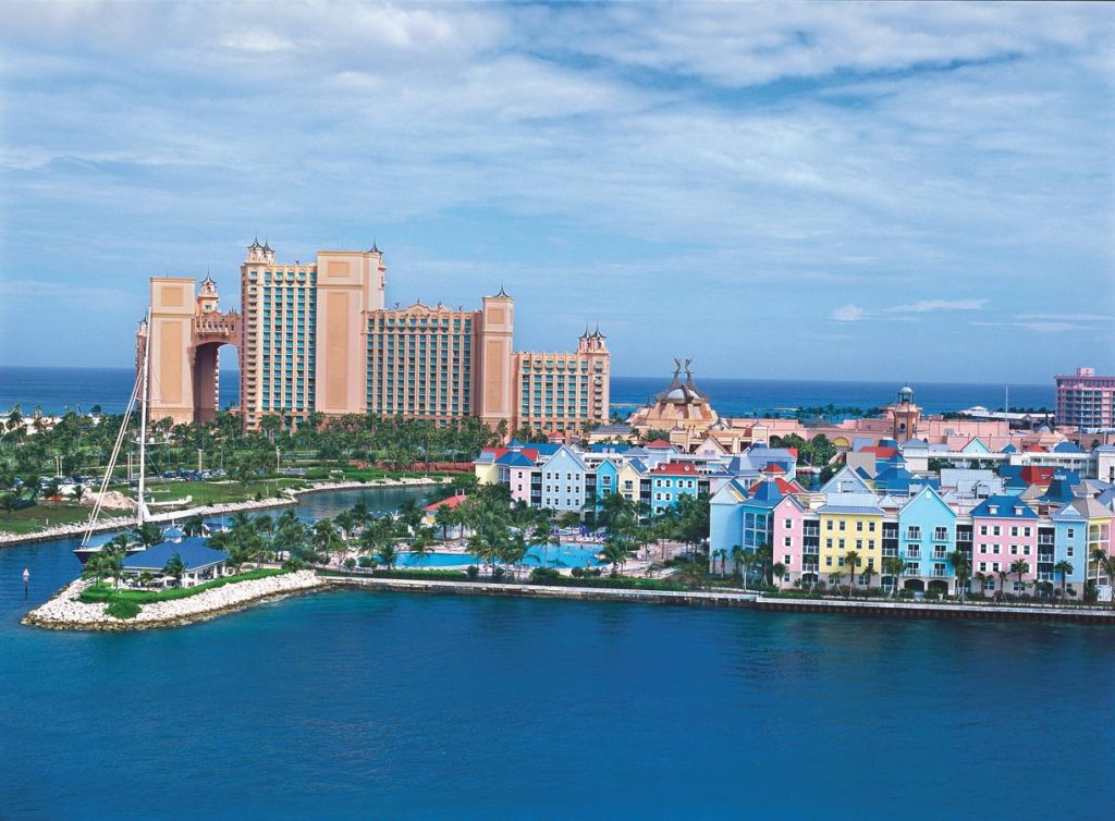 Itinerary Day 1 - Harborside in the Bahamas
