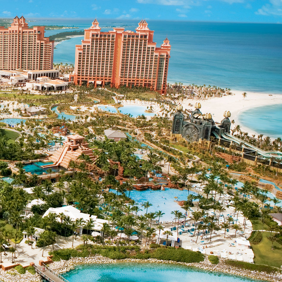 Itinerary 2 - Harborside in Atlantis, Bahamas