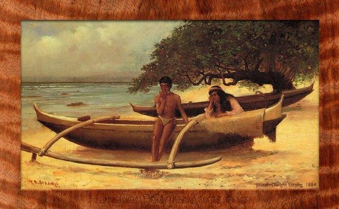 Hawaii Watersports - ancient hawaiian canoe