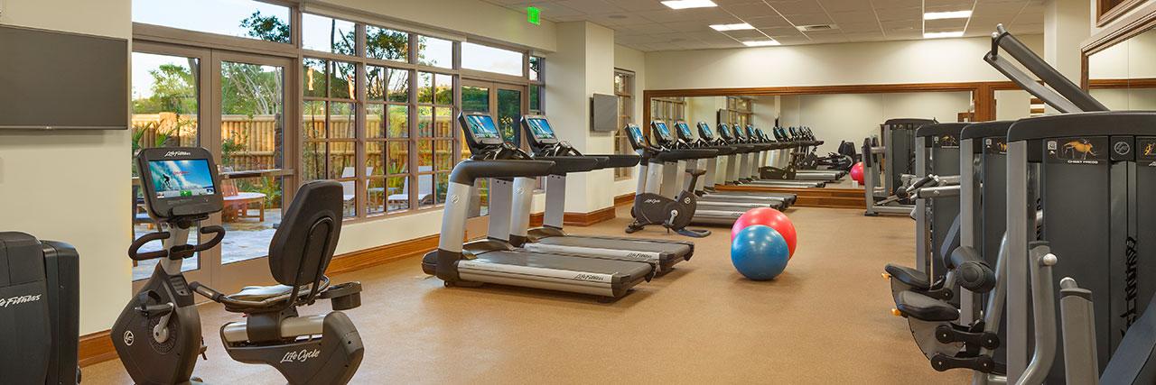 Hyatt Kaanapali Beach Resort Gym