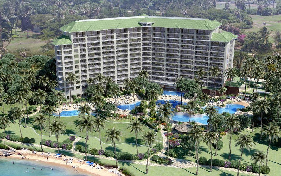 Hyatt Kaanapali on Maui in Hawaii