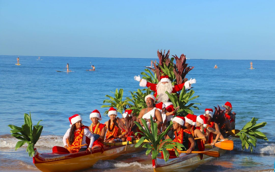Hawaiian Christmas on Maui