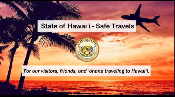Safe travel requirements for the State of Hawaii
